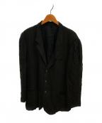 YohjiYamamoto pour homme(ヨウジヤマモトプールオム)の古着「レーヨン3Bジャケット」|ブラック