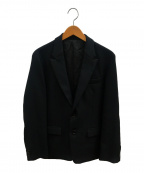 MR.OLIVE(ミスターオリーブ)の古着「2Bセミピークドラペルジャケット」|ブラック