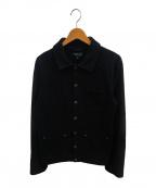 agnes b homme(アニエスベーオム)の古着「カバーオールジャケット」 ブラック