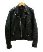 HARLEY-DAVIDSON(ハーレーダビットソン)の古着「50'Sヴィンテージライダースジャケット」|ブラック