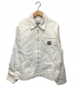 Carhartt WIP(カーハートダブリューアイピー)の古着「OGデトロイトジャケット」 ホワイト