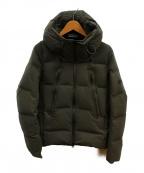 DESCENTE ALLTERRAIN(デザイント オルテライン)の古着「水沢ダウンマウンテニアジャケット」|カーキ