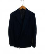 Casely-Hayford(ケイスリーヘイフォード)の古着「ダブルジャケット」|ネイビー