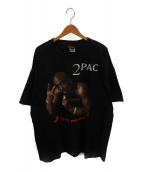()の古着「00'sオールドラップTシャツ」 ブラック
