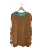 ()の古着「5Gクルーネックセーター」 ベージュ