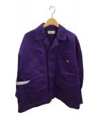 ()の古着「カバーオールジャケット」|パープル