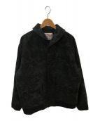 ()の古着「ペイズリーショールカラージャケット」 ブラック