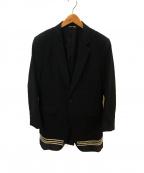 COMME des GARCONS HommePlus(コムデギャルソン オムプリュス)の古着「ロングテーラードコート」|ブラック