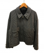 stein(シュタイン)の古着「オーバードリズラージャケット」|グレー