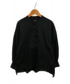 ()の古着「ボリュームシャツ」 ブラック