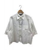 ()の古着「ワイドショートシャツ」 ホワイト