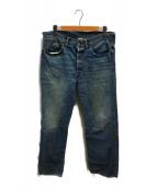 ()の古着「ヴィンテージ5ポケットデニムパンツ」 インディゴ