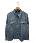 RRL()の古着「シャンブレーシャツ」 ブルー