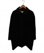 BEAUTY&YOUTH()の古着「コーデュロイバルカラーコート」|ブラック