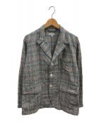 ()の古着「ニューベッドフォードジャケット」 ブルー×レッド
