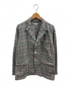Engineered Garments(エンジニアドガーメンツ)の古着「ニューベッドフォードジャケット」 ブルー×レッド