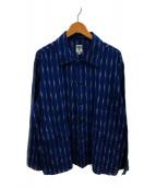 ()の古着「ハンティングシャツ」 ネイビー