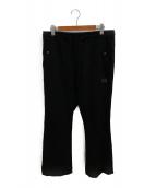()の古着「パイピングカウボーイパンツ」 ブラック