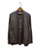 JAN MACHENHAUER(ヤンマッケンハウアー)の古着「シャツ」 グレー