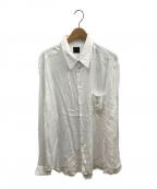 YOHJI YAMAMOTO(ヨウジヤマモト)の古着「L/Sシャツ」 ホワイト