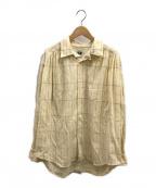 AiE(エーアイイー)の古着「ペインターシャツ」 アイボリー