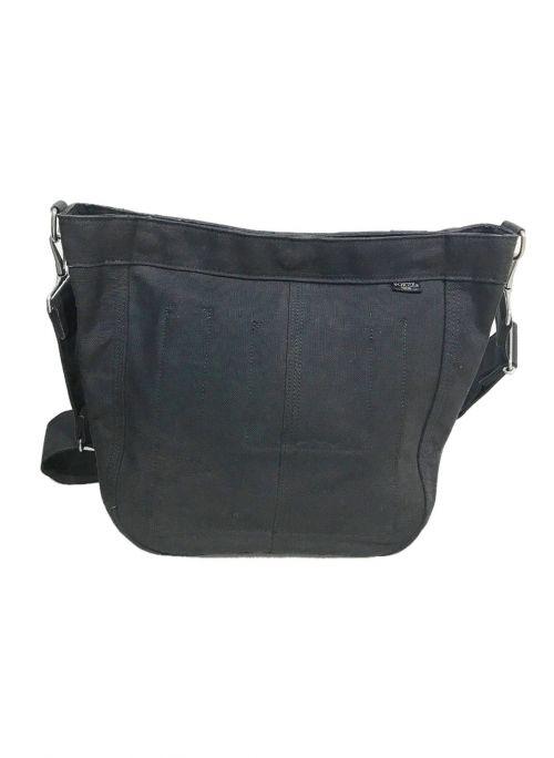 PORTER(ポーター)PORTER (ポーター) デニムショルダーバッグ ブラック サイズ:実寸サイズをご参照ください。の古着・服飾アイテム