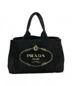 PRADA()の古着「カナパトートバッグ」|ブラック