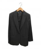 AP STUDIO(エーピーストゥディオ)の古着「ブラックウールジャケット」 ブラック