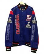 NFL(ナショナル・フットボール・リーグ)の古着「レーシングジャケット」|ブルー