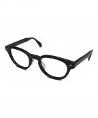 OLIVER PEOPLES(オリバーピープルズ)の古着「シェルドレイクボストンフレーム眼鏡」|ダークブラウン