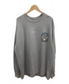 ()の古着「ロングスリーブTシャツ」 グレー