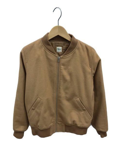 Ron Herman(ロンハーマン)Ron Herman (ロンハーマン) ボンバージャケット ベージュ サイズ:XSの古着・服飾アイテム