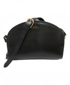 A.P.C.(アーペーセー)の古着「ハーフムーンショダーバッグ」 ブラック