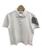 MONCLER GAMME BLEU(モンクレール ガム ブルー)の古着「マグリアポロシャツ」 ホワイト