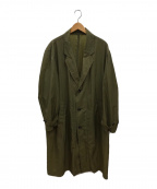 COMME des GARCONS HOMME(コムデギャルソン オム)の古着「ナイロンコート」 オリーブ