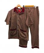 SUPREME(シュプリーム)の古着「サテンパジャマセット」 レッド