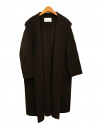 BALLSEY(ボールジィー)の古着「プレミアムリバーフーテッドガウンコート」|ブラウン