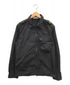 ()の古着「シャツブルゾン」|ブラック