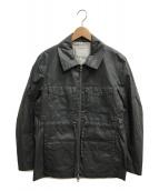 ()の古着「コーティングコート」|グレー