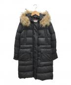 MONCLER(モンクレール)の古着「メッシーナダウンコート」|ブラック