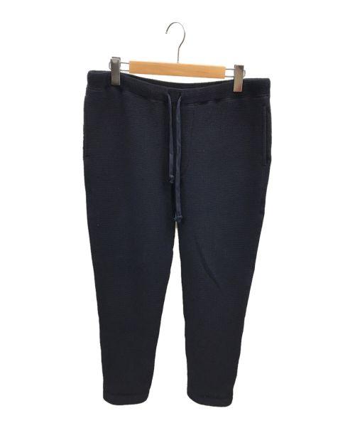 ts(s)(ティーエスエス)ts(s) (ティーエスエス) ウールワッフルイージーパンツ ネイビー サイズ:3の古着・服飾アイテム