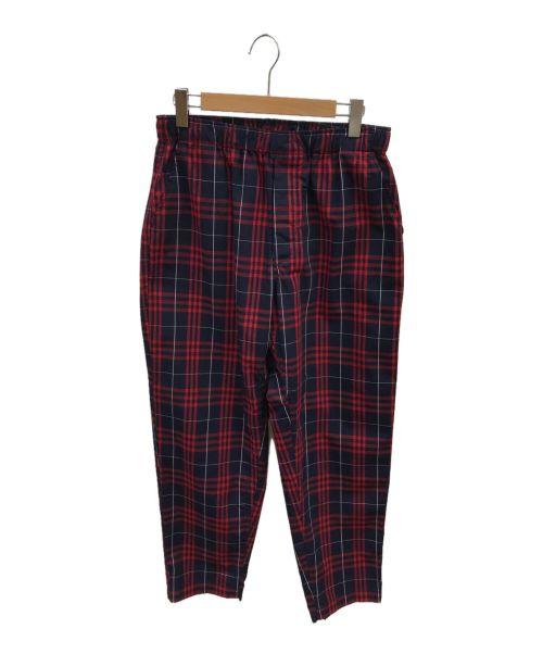 RANDT(アールアンドティー)RANDT (アールアンドティー) コンフィーパンツ レッド サイズ:Mの古着・服飾アイテム