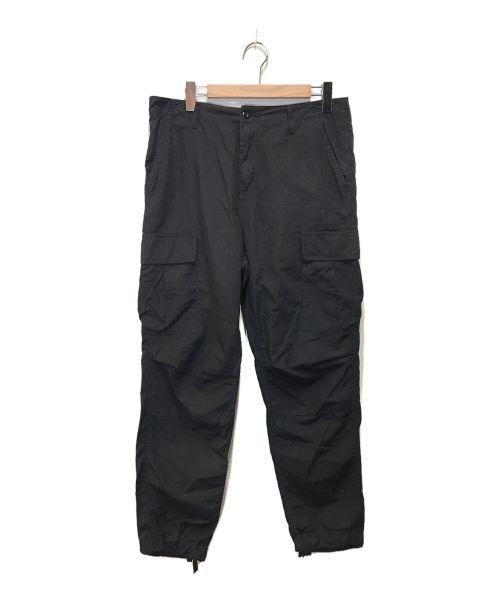 Carhartt WIP(カーハート ダブリューアイピー)Carhartt WIP (カーハート ダブリューアイピー) フィールドカーゴパンツ ブラック サイズ:SIZE (W32)の古着・服飾アイテム
