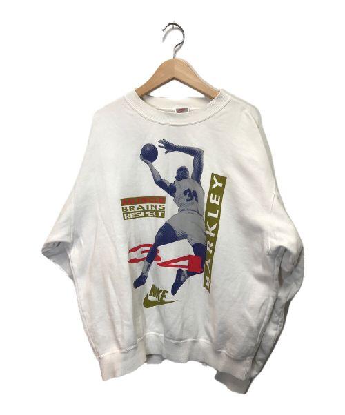 NIKE(ナイキ)NIKE (ナイキ) クルーネックスウェット ホワイト サイズ:Lの古着・服飾アイテム