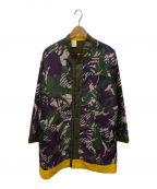 N.HOOLYWOOD(エヌ ハリウッド)の古着「スタンドカラーコート」 マルチカラー