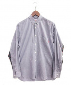 Supreme×COMME des GARCONS SHIRT(シュプリーム × コムデギャルソンシャツ)の古着「ギンガムチェックシャツ」 ネイビー×ホワイト