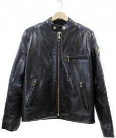 WEST COAST CHOPPERS(ウエストコーストチョッパーズ)の古着「レザージャケット」 ブラック