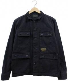 ROUGH AND RUGGED(ラフ アンド ラギッド)の古着「ミリタリージャケット」|ブラック