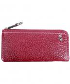 PELLE BORSA(ペレボルサ)の古着「長財布」 レッド
