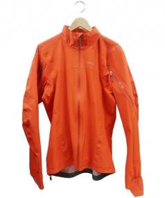 Patagonia(パタゴニア)の古着「ゴアテックスジャケット」|オレンジ